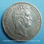 Coins Louis Philippe (1830-1848). 5 francs, tranche en creux, 1831K. Bordeaux