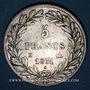 Coins Louis Philippe (1830-1848). 5 francs, tranche en creux, 1831M. Toulouse