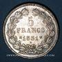 Coins Louis Philippe (1830-1848). 5 francs, tranche en creux, 1831MA. Marseille
