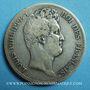 Coins Louis Philippe (1830-1848). 5 francs, tranche en creux, 1831W. Lille