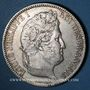Coins Louis Philippe (1830-1848). 5 francs, tranche en relief, 1831A