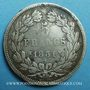 Coins Louis Philippe (1830-1848). 5 francs, tranche en relief, 1831H. La Rochelle