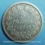Coins Louis Philippe (1830-1848). 5 francs, tranche en relief, 1831MA. Marseille