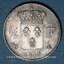 Coins Louis XVIII (1815-1824). 1/4 franc 1817A