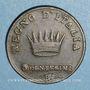 Coins Royaume d'Italie. Napoléon I (1805-1814). 3 centesimi 1er type, 1808 B. Bologne