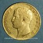 Coins 1er empire (1804-1814). 20 franc tête nue an 13A. (PTL 900‰. 6,45 g)