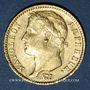 Coins 1er empire (1804-1814). 20 francs tête laurée, EMPIRE, 1809A. 900 /1000. 6,45 gr