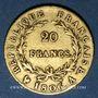 Coins 1er empire (1804-1814). 20 francs tête nue 1806A. 900 /1000. 6,45 gr
