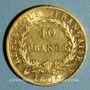 Coins 1er empire (1804-1814). 40 francs, date grégorienne, 1806A. 900 /1000. 12,90 gr