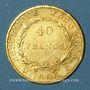 Coins 1er empire (1804-1814). 40 francs, date grégorienne, 1806A. (PTL 900 /1000. 12,90 gr)