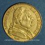 Coins 1ère restauration (1814-1815). 20 francs buste habillé 1814A. (PTL 900/1000. 6,45 g)