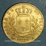 Coins 1ère restauration. 20 francs buste habillé 1814A. (PTL 900‰. 6,45 g). Type avec 4 court