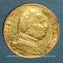 Coins 1ère restauration. 20 francs buste habillé 1814A. (PTL 900 /1000. 6,45 g). Type avec 4 court