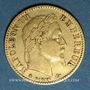 Coins 2e empire (1852-1870). 10 francs, Napoléon III, tête laurée 1864A. 900 /1000. 3,22 gr