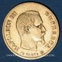 Coins 2e empire (1852-1870). 10 francs tête nue 1855 A. (PTL 900‰. 3,22 g)