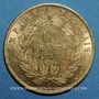 Coins 2e empire (1852-1870). 10 francs tête nue 1856 A, grand module. (PTL 900‰. 3,22 g)