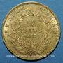 Coins 2e empire (1852-1870). 10 francs tête nue 1857 A, grand module. (PTL 900‰. 3,22 g)