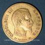 Coins 2e empire (1852-1870). 10 francs tête nue 1859 BB. Strasbourg. ((PTL 900‰. 3,22 g)