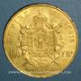 Coins 2e empire (1852-1870). 100 francs Napoléon III tête laurée 1867BB. (PTL 900‰ 32,25 g)