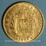 Coins 2e empire (1852-1870). 20 francs, Napoléon III, tête laurée 1862A. Petit A. 900 /1000. 6,45 gr