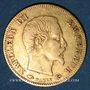 Coins 2e empire (1852-1870). 5 francs tête nue 1857 A. Grand module. (PTL 900‰. 1,612 g)