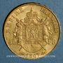 Coins 2e empire (1852-1870). 50 francs Napoléon III tête laurée 1867BB. Strasbourg. (PTL 900‰.16,12 g)