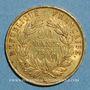 Coins 2e république (1848-1852). 20 francs Louis Bonaparte 1852A. (PTL 900 /1000. 6,45 gr)