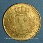 Coins 2e restauration. Louis XVIII (1815-1824). 20 francs buste habillé 1815A. (PTL 900 /1000. 6,45 g)