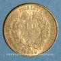 Coins 3e république (1870-1940). 10 francs Cérès 1899A. (PTL 900‰. 3,22 g)