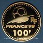 Coins 5e république (1959 -). 100 francs 1996 Coupe du Monde de Football, 1998. 920 /1000. 17 g