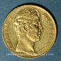 Coins Charles X (1824-1830). 20 francs 1826W. Lille. 900 /1000. 6,45 gr