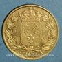 Coins Charles X (1824-1830). 20 francs 1827 A. (PTL 900‰. 6,45 g)