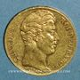Coins Charles X (1824-1830). 20 francs 1827A. (PTL 900‰. 6,45 g)