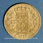 Coins Charles X (1824-1830). 20 francs 1828A. 900 /1000. 6,45 g