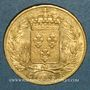 Coins Charles X (1824-1830). 20 francs 1828A. (PTL 900 /1000. 6,45 g)
