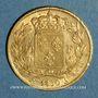 Coins Charles X (1824-1830). 20 francs 1830A. (PTL 900‰. 6,45 g)