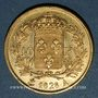 Coins Charles X (1824-1830). 40 francs 1828A. 900 /1000. 12,90 gr