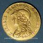Coins Italie. Gaule Subalpine (1800-1802). 20 francs an 9. Turin