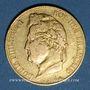 Coins Louis Philippe (1830-1848). 20 francs tête laurée 1834A. 900 /1000. 6,45 gr