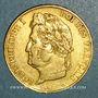 Coins Louis Philippe (1830-1848). 20 francs tête laurée 1836A. (PTL 900‰. 6,45 g)