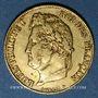 Coins Louis Philippe (1830-1848). 20 francs tête laurée 1840 A. (PTL 900‰. 6,45 g)