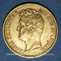 Coins Louis Philippe (1830-1848). 20 francs tête nue, tranche en relief, 1831A. 900 /1000. 6,45 gr