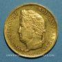 Coins Louis Philippe (1830-1848). 40 francs 1833A. (PTL 900‰. 12,90 g)