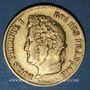Coins Louis Philippe (1830-1848). 40 francs tête laurée 1831A. 900 /1000. 12,90 gr