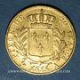 Coins Louis XVIII (1815-1824). 20 francs buste habillé 1815A. (PTL 900‰. 6,45 g)