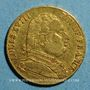 Coins Louis XVIII, en exil (1815). 20 francs 1815R. Londres. 900 /1000. 6,45 gr