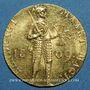 Coins Pays Bas. Royaume de Hollande. Louis Napoléon (1806-1810). Ducat 1809, 1er type