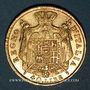 Coins Royaume d'Italie. Napoléon I (1805-1814). 40 lires 1813M. Milan. (PTL 900‰. 12,90 g)