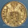 Coins Royaume d'Italie. Napoléon I (1805-1814). 40 lires 1814M. Milan. Petit M. (PTL 900‰. 12,90 g)