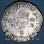 Coins Charles IX (1560-1574). Monnayage au nom de Henri II. Teston, 2e type, 1561T. Nantes